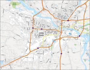 Little Rock Road Map