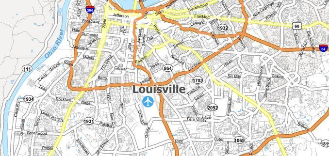 Louisville Map Feature