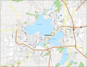 Madison Road Map