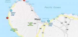 Maui Map Feature