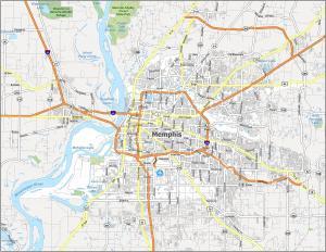 Memphis Road Map
