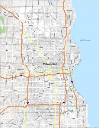 Milwaukee Road Map