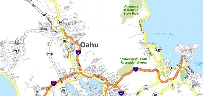 Oahu Map