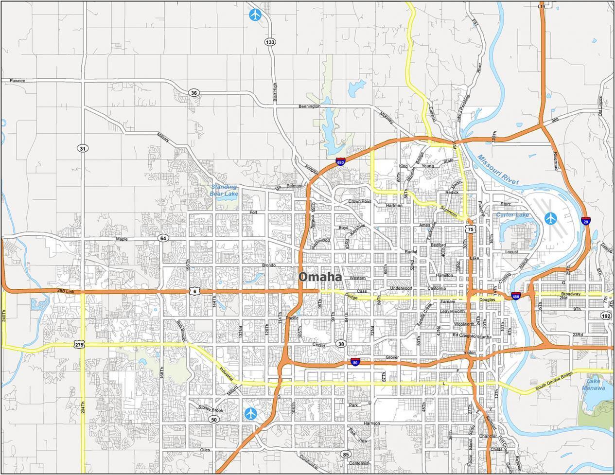 Omaha Road Map