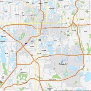 Orlando Map Florida