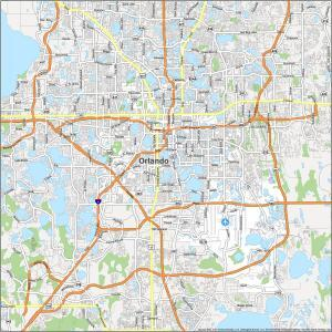Orlando Road Map