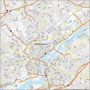 Philadelphia Road Map