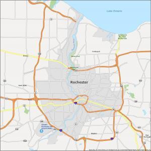 Rochester Map New York
