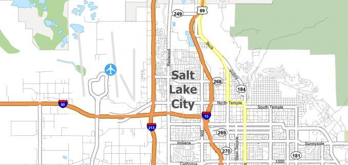 Salt Lake City Map