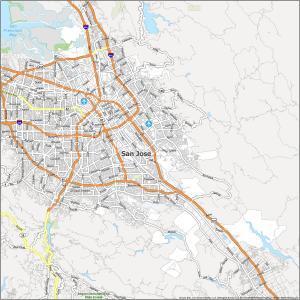 San Jose Road Map