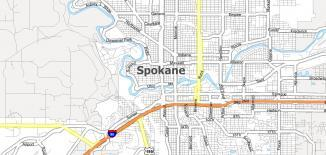 Spokane Map