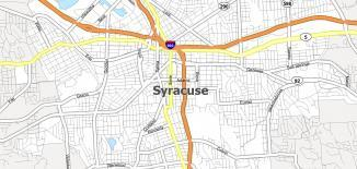 Syracuse Map
