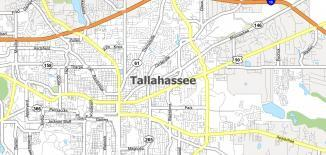 Tallahassee Map