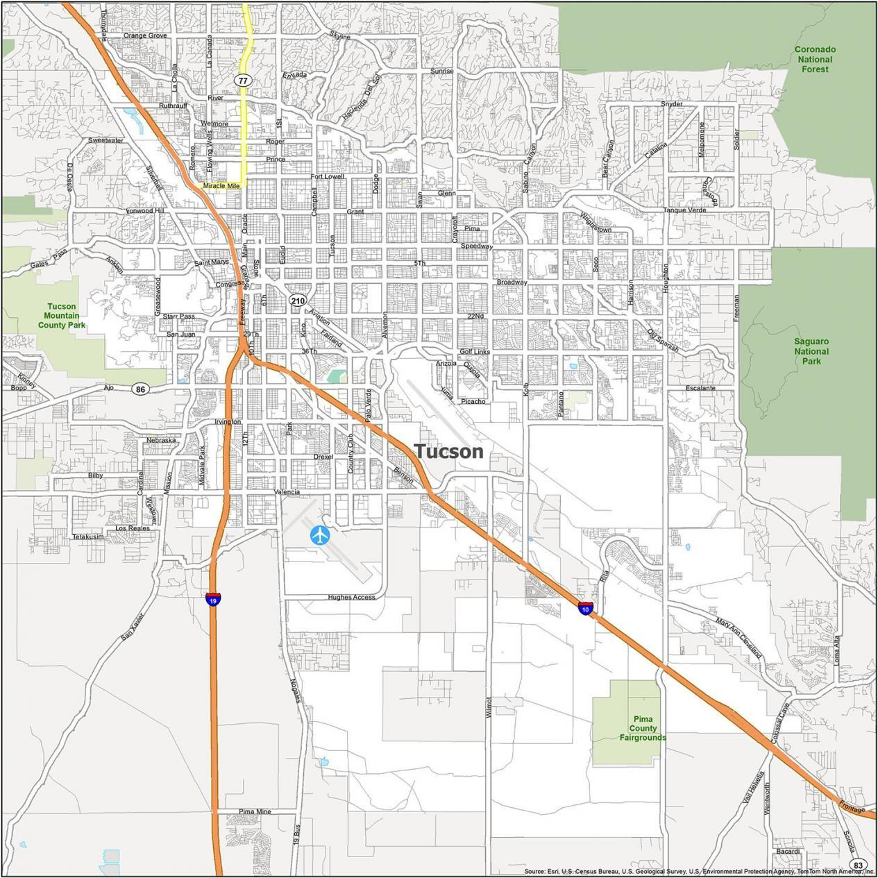 Tucson Road Map