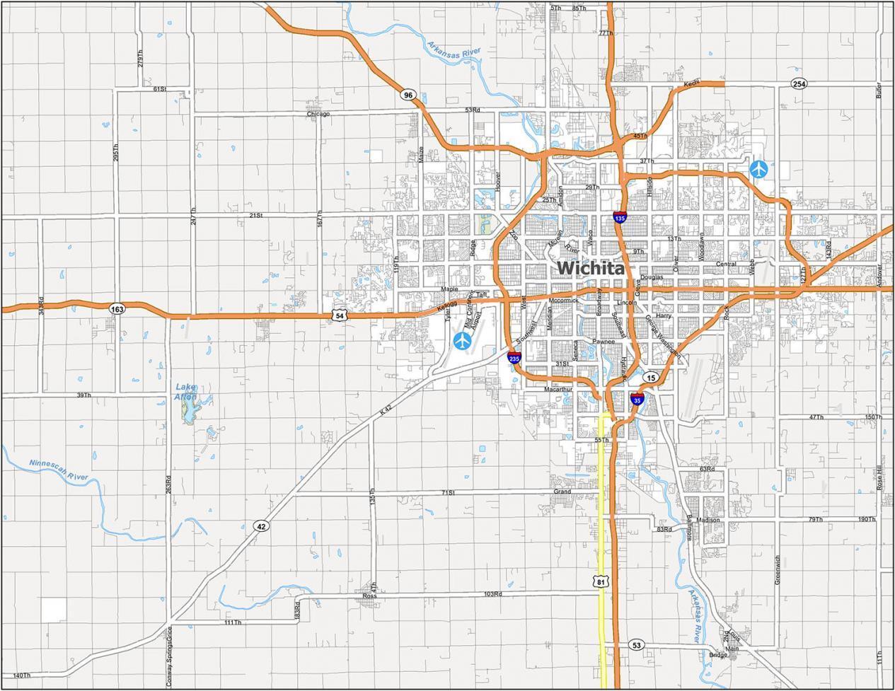 Wichita Road Map
