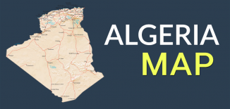 Algeria Map Feature