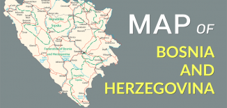 Bosnia Herzegovina Map Feature