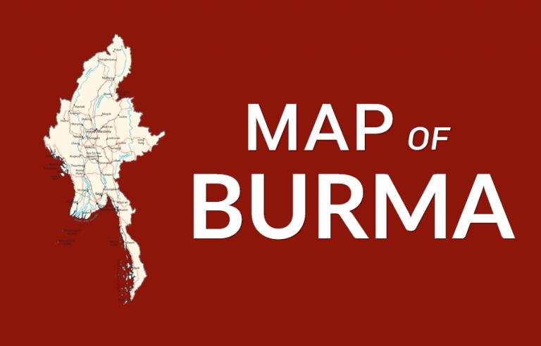 Burma Map [Myanmar]
