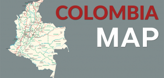Colombia Map Feature