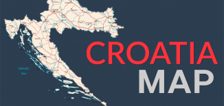 Croatia Map Feature