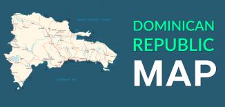 Dominican Republic Map Feature
