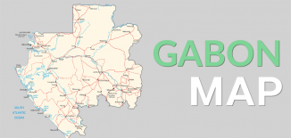 Gabon Map Feature