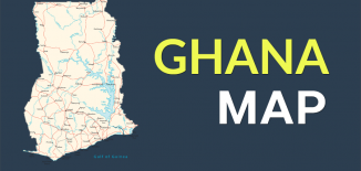 Ghana Map Feature