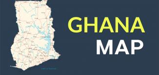 Ghana Map Feature