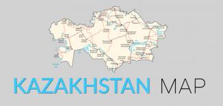 Kazakhstan Map Feature