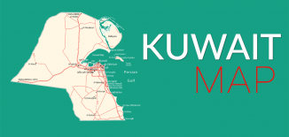 Kuwait Map Feature