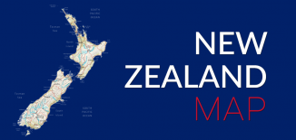 New Zealand Map Feature