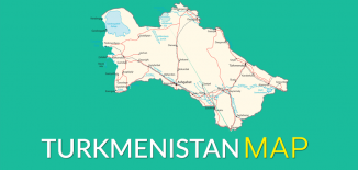 Turkmenistan Map Feature