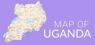 Uganda Map Feature