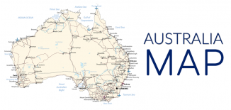 Australia Map Feature