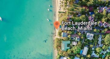 Geocoding Fort Lauderdale Beach