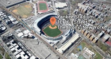 Geocoding Yankee Stadiuim