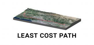 Least Cost Path Feature
