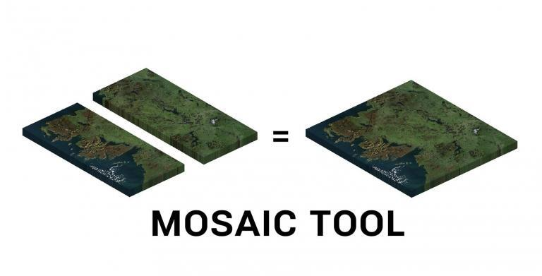 How To Mosaic Raster Datasets