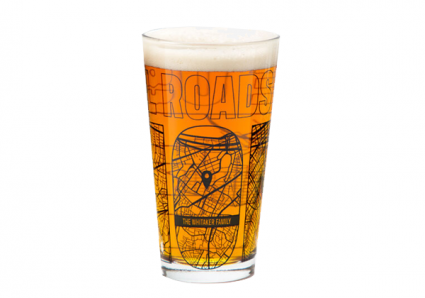 Personalized Home Town Map Glass