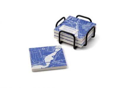 Personalized Map Coaster