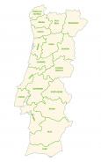 Portugal Provinces Map