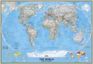 Wall Map - National Geographic