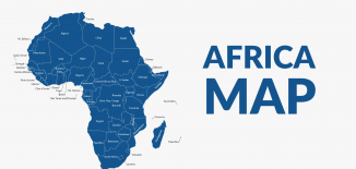 Africa Map Feature
