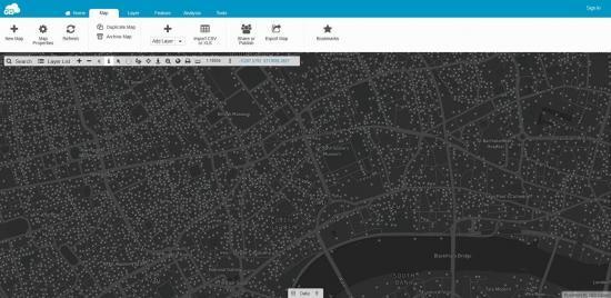 GIS Cloud Webmap Example