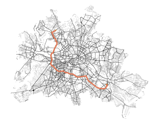 Linear Referencing Road Network