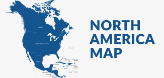 North America Map Feature