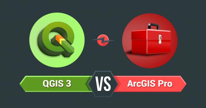 QGIS 3 vs ArcGIS Pro - 35 Differences