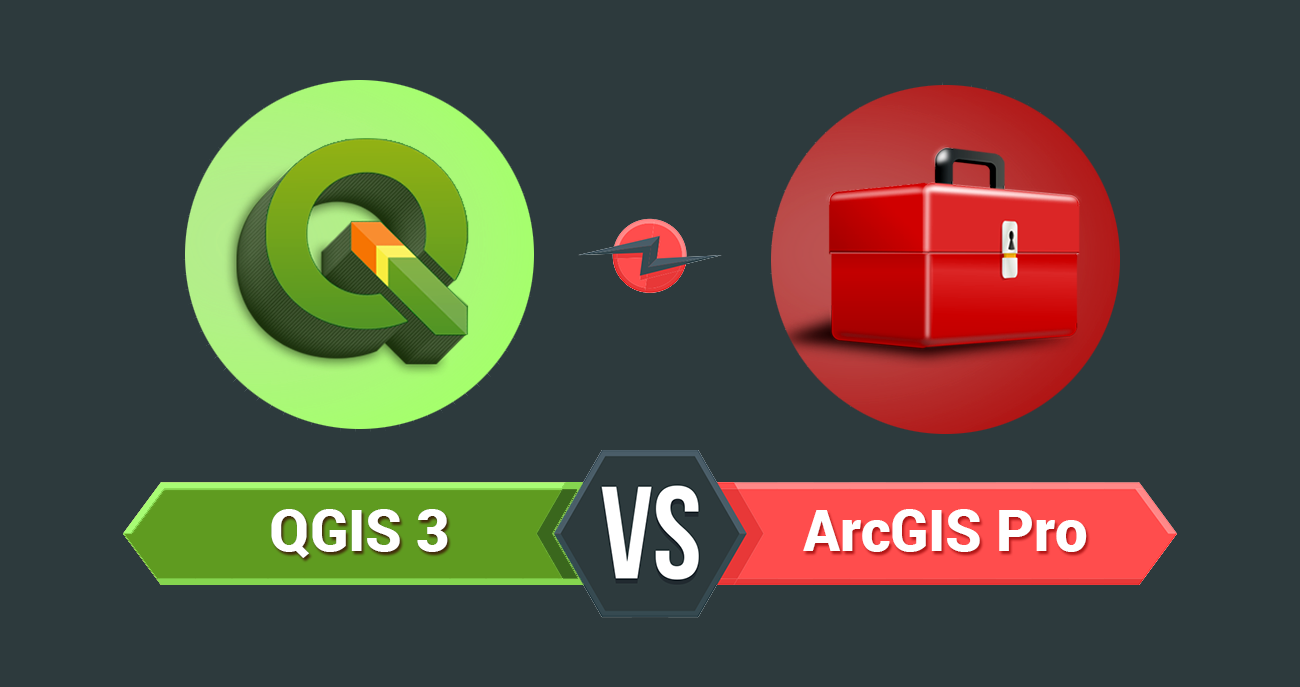 35 Differences Between ArcGIS Pro and QGIS 3
