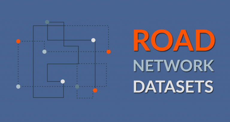 3 Highways and Roads Datasets [Geometric Networks]