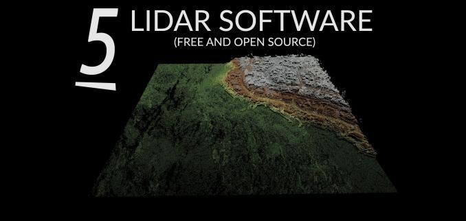 Free LiDAR Software